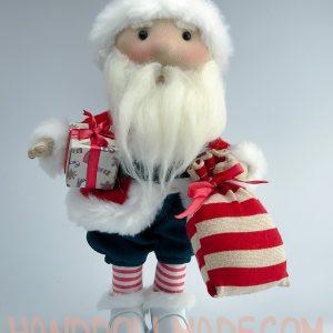 Авторская кукла Санта Клаус