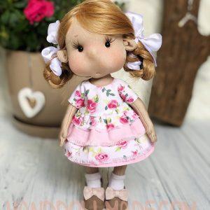 Игровая интерьерная кукла с баранками