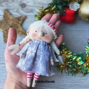 Интерьерная кукла ручной работы ангел