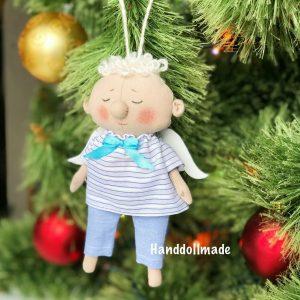 Ангел подвеска интерьерная кукла